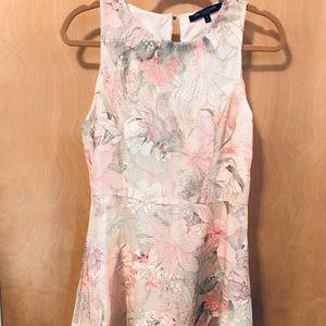 Floral texture dress